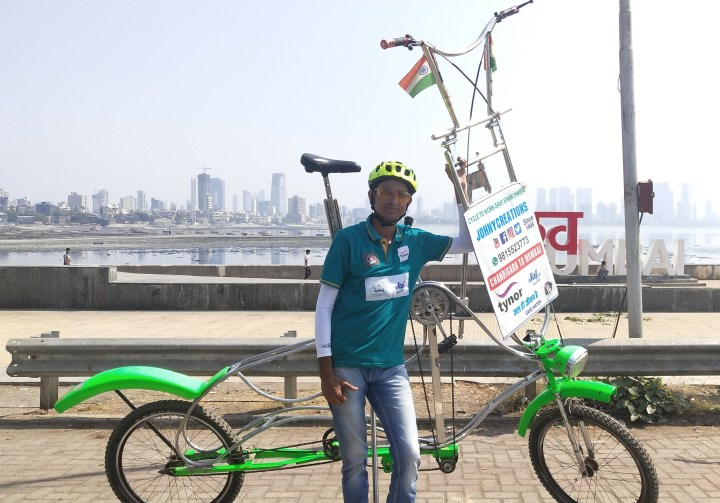 राजीव कुमार की 10.6 फिट की साइकिल देखकर हो जाएंगे हैरान