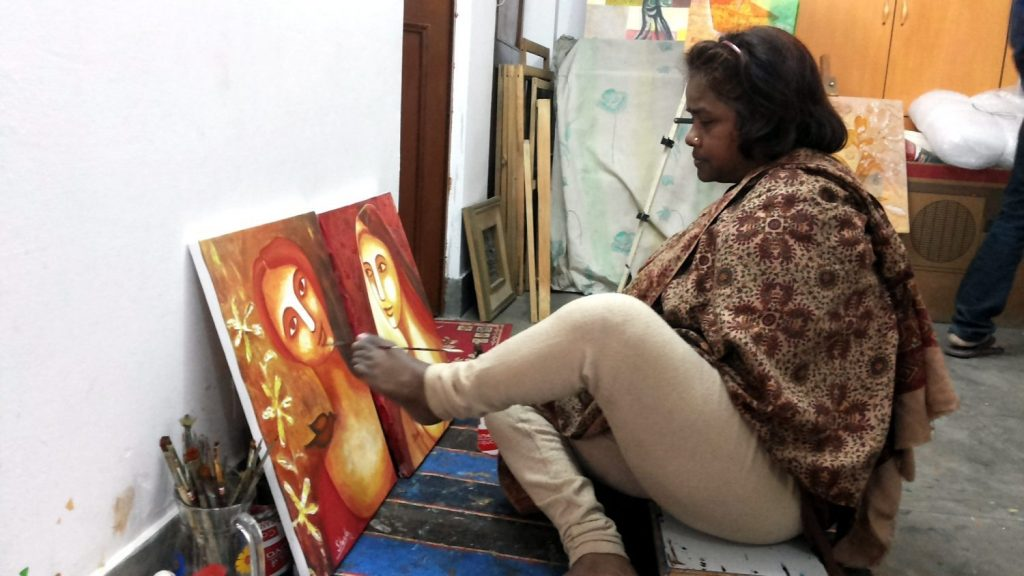 Foot Painter Sheela