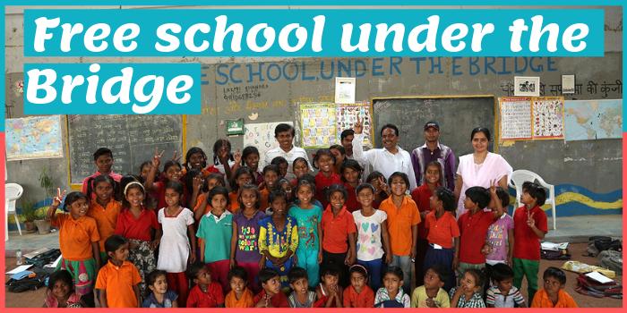 Free School Under The bridge,फ्री स्कूल अडंर द ब्रिज,Rajesh kumar,राजेश कुमार,the indianness