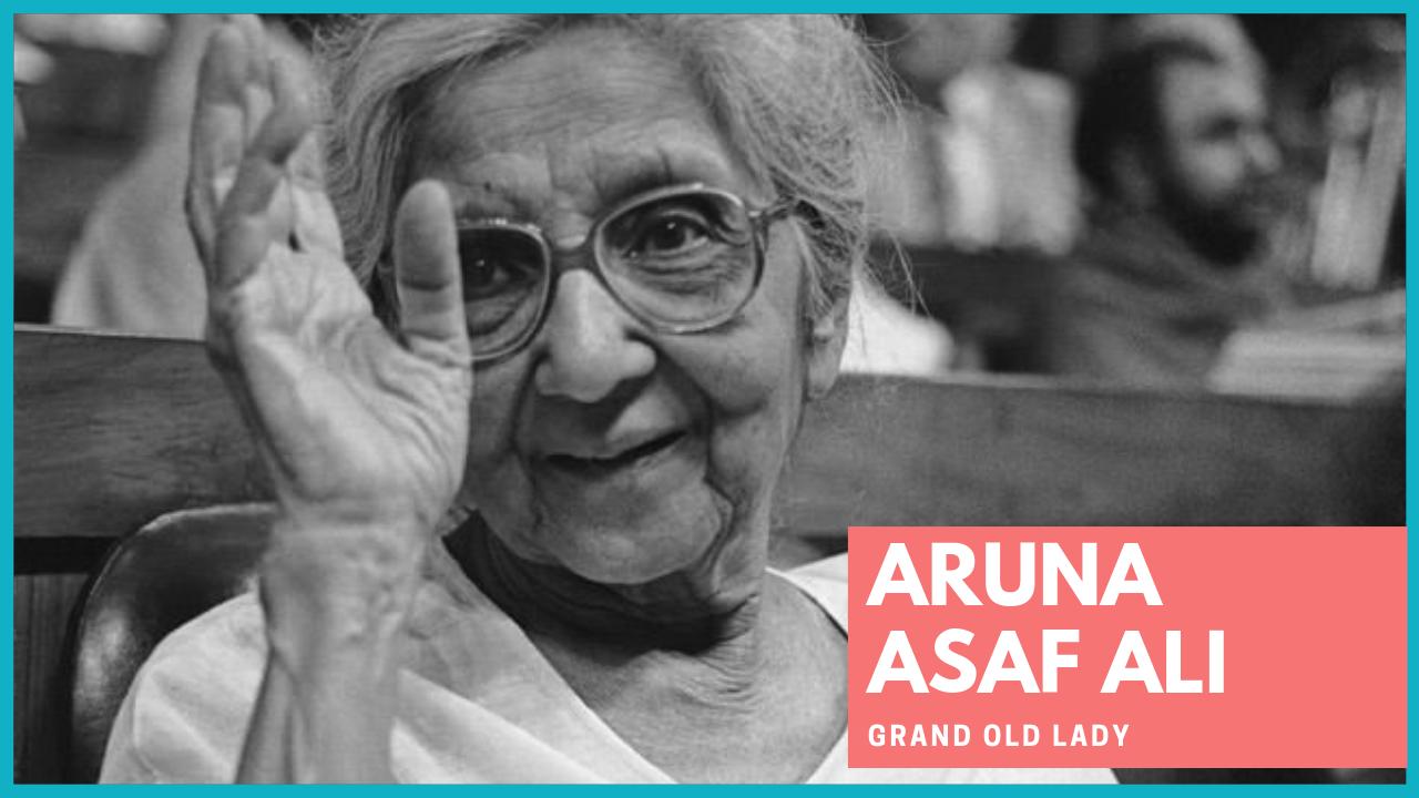 Aruna Asaf Ali : दिल्ली की एक सड़क इनके नाम पर है