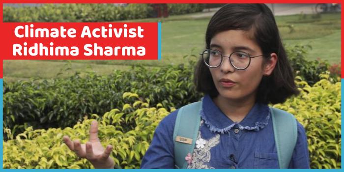 UN में क्लाइमेट चेंज पर भारत की आवाज बनी रिधिमा पांडे