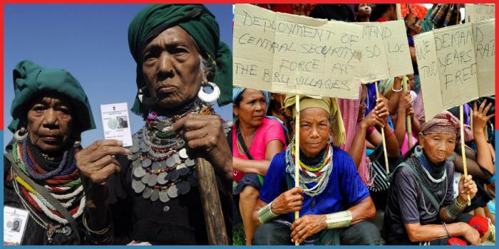 Bru tribes