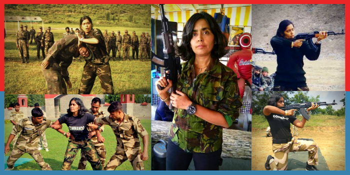 India's first woman commando trainer