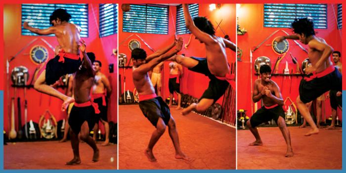 कलरीपायट्टु,Martial Arts