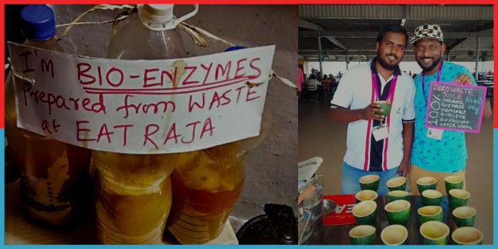 Zero Waste Producing Juice Shop