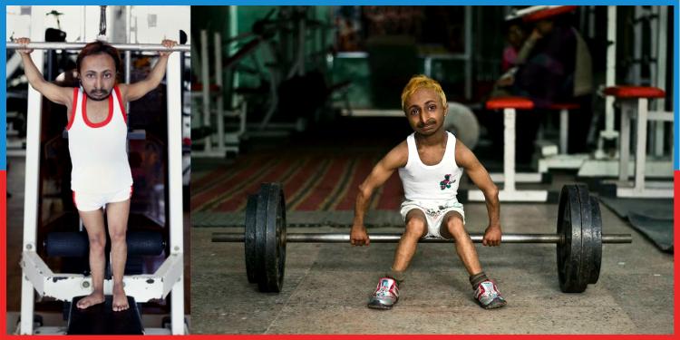 World's Tiniest Bodybuilder