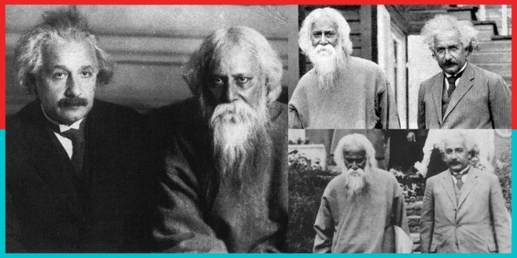 Einstein,Rabindranath Tagore