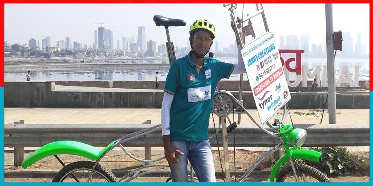 Rajeev kumar,long cycle