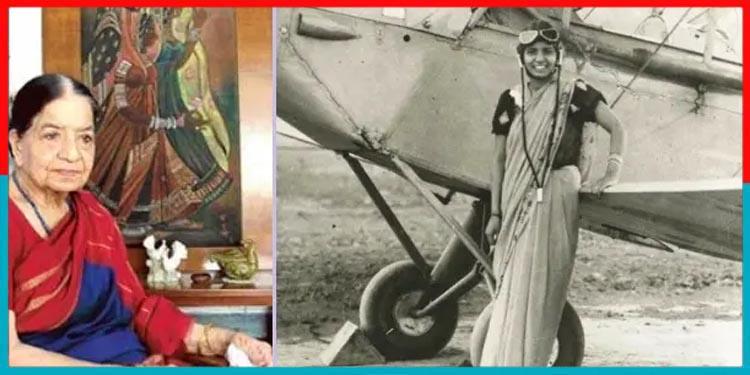 Sarla Thakral,First Indian women Pilot
