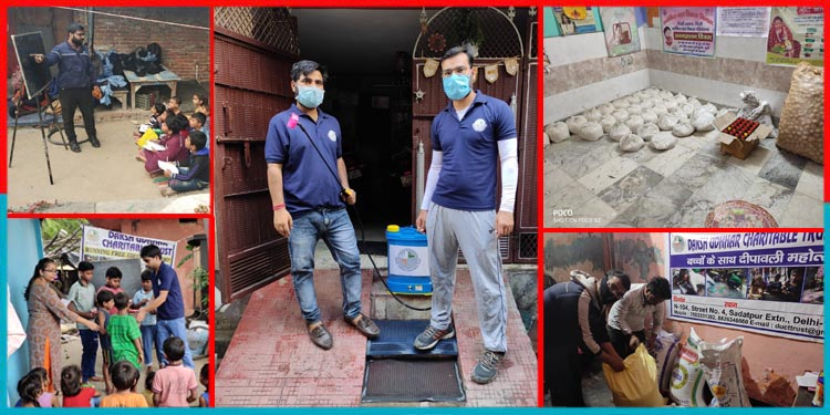 Daksh Udhhar Charitable Trust, कोरोना से जीत एक धेय