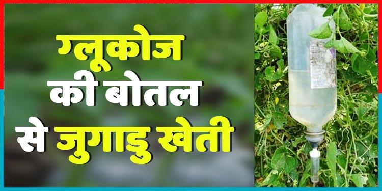 वेस्ट पड़ी ग्लूकोज की बोतलों से बनाया जुगाडु Drip Irrigation, बदल दी अनेकों किसानों की ज़िंदगी