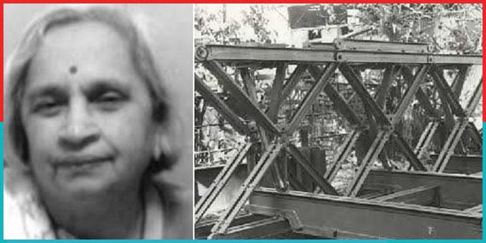 कश्मीर से अरुणाचल तक अनेकों पुल बनाने वाली देश की पहली सिविल महिला इंजीनियर की कहानी