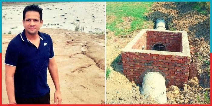 MBA गौतम ने बदली अपने गाँव की सूरत, हर साल बचाते हैं 25 लाख लीटर पानी