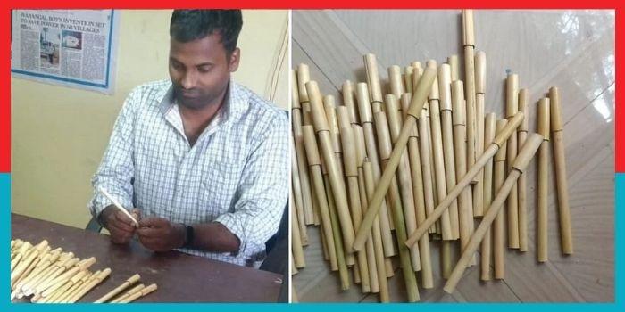 मकई की भूसी से बना Eco-Friendly Pen, कीमत मात्र 10 रुपये